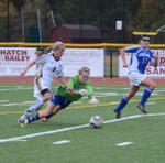 2011 Girls Soccer vs Lewis Mills 11/15