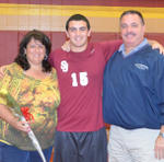 2013 B Volleyball Senior Night